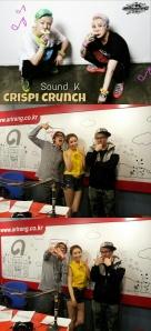 Crispi Crunch on SoundK
