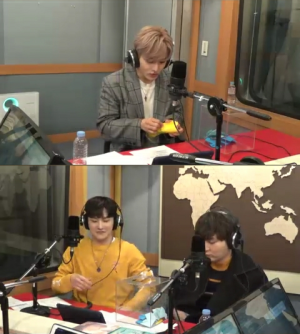 sungmin, lex, and Seongri at arirang